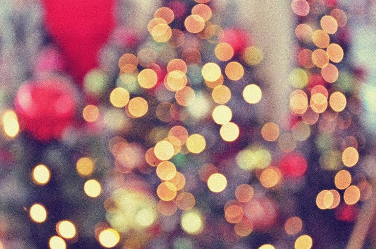 Por cierto, es Navidad