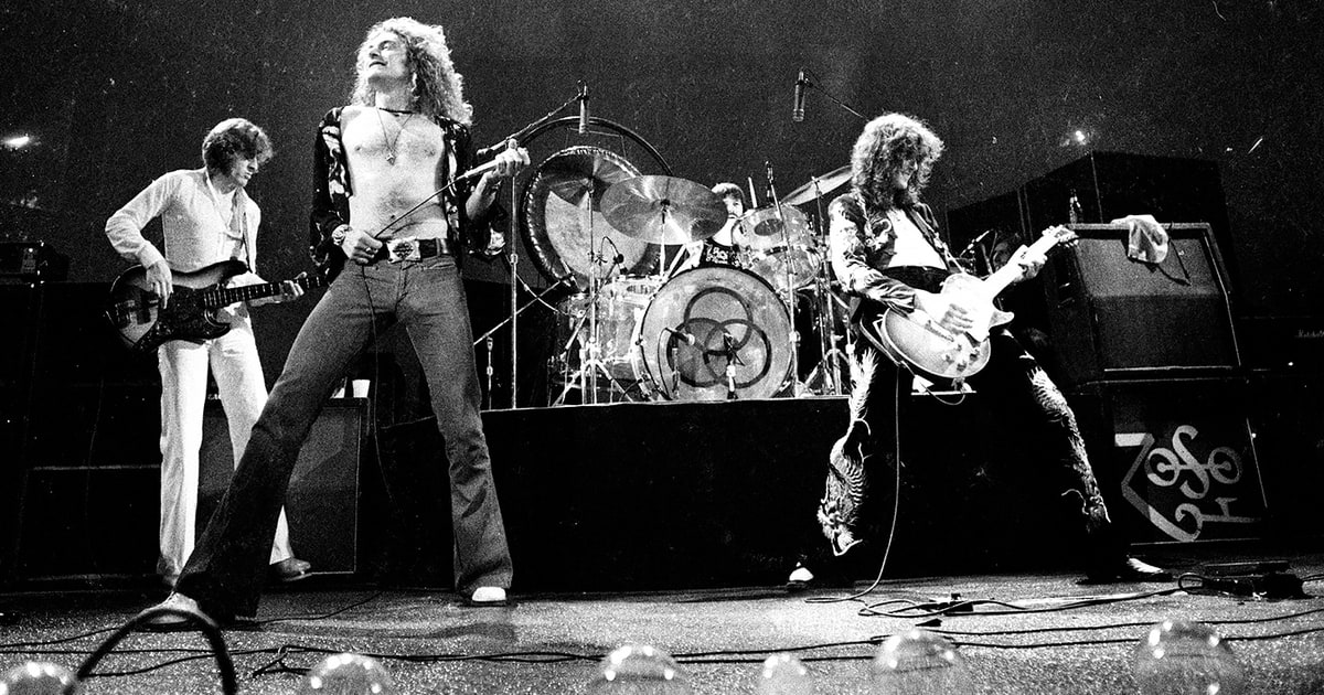 led zeppelin rock vintage
