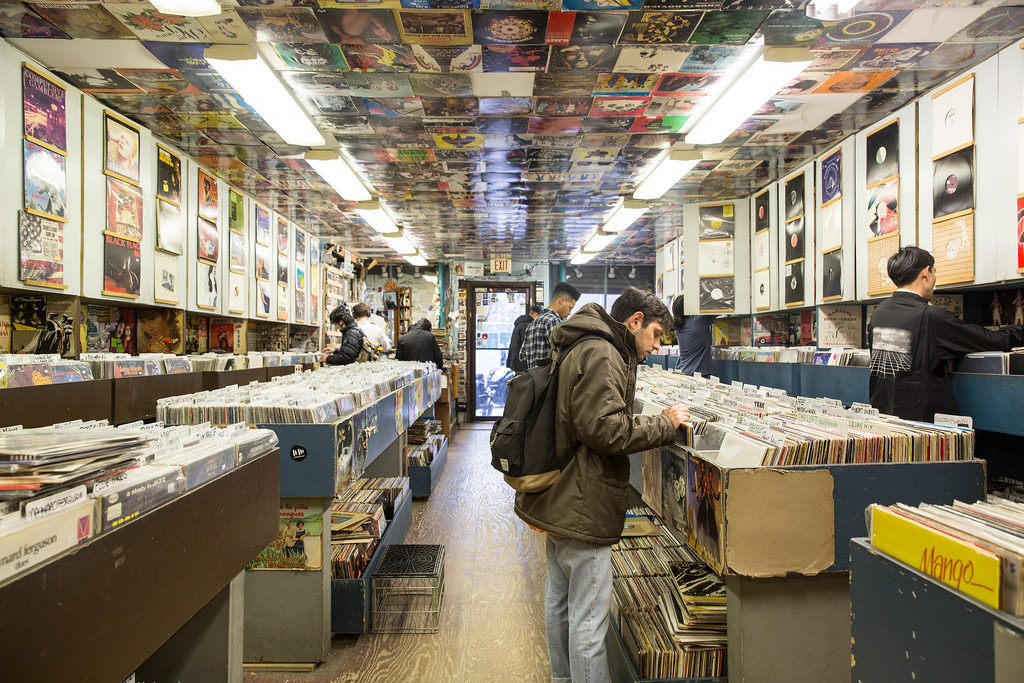 crítica musical tienda discos