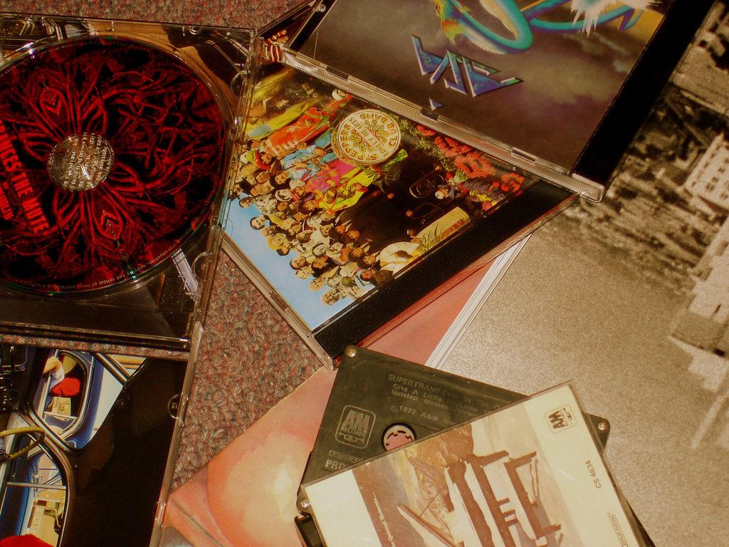 cd cassettes