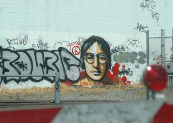 Lennon graffiti
