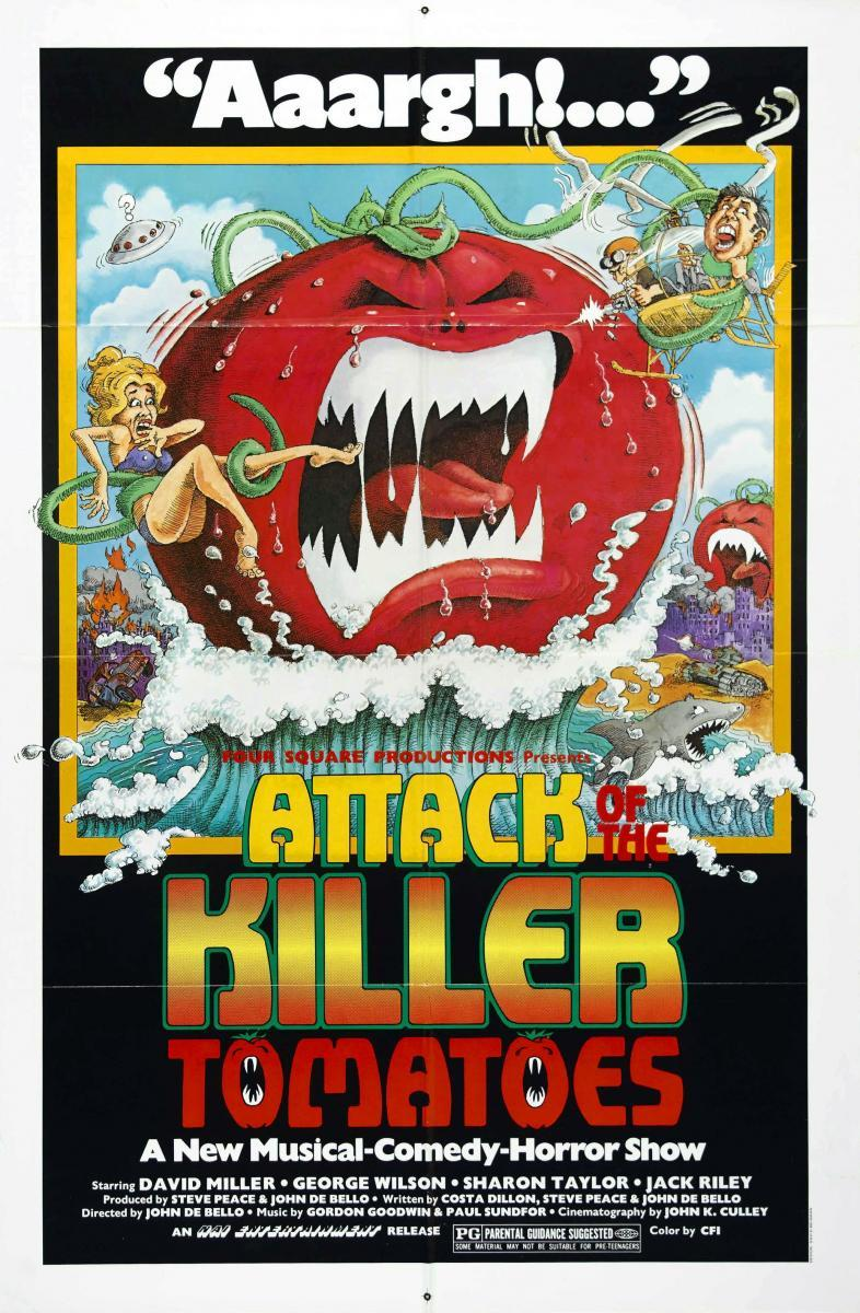 Attack of the Killer Tomatoes: ¡verdaderos frutos punks!