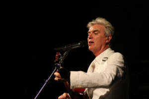 ¿De dónde viene David Byrne?