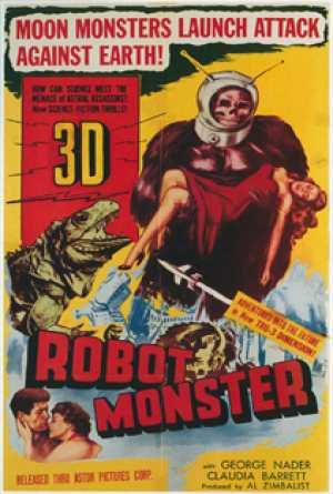 Robot Monster, el gorila extraterrestre más absurdo del mundo