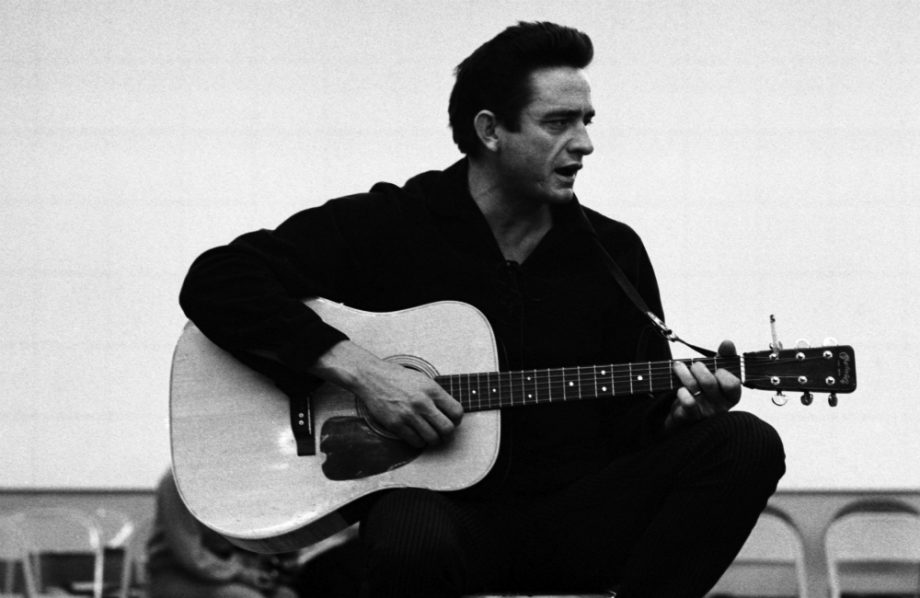 "Johnny Cash, ""For the Good Times"""