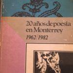 20 años de poesia en monterrey