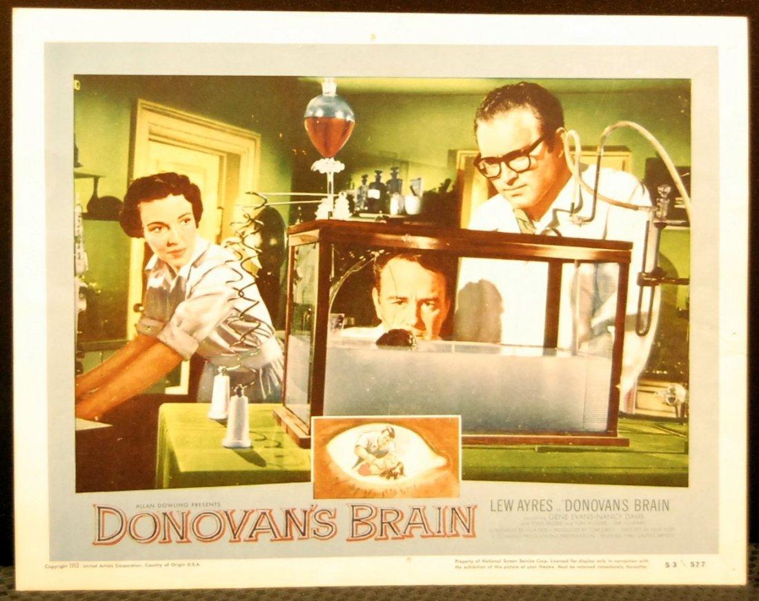 """""""El Cerebro de Donovan"""", ciencia loca de los cincuenta"""