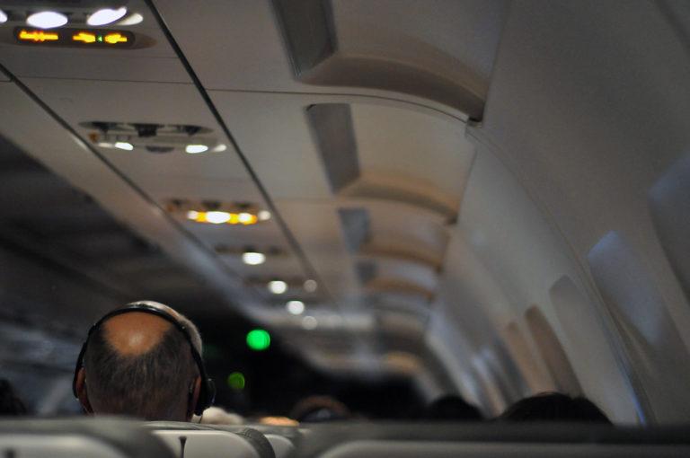 música turbulencias avión