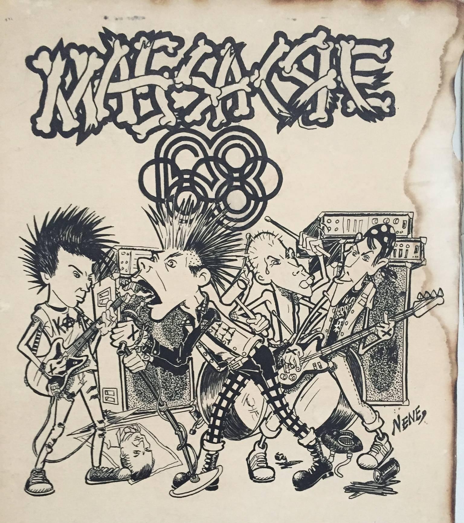 """Massacre 68 era toda una actitud: Una charla con Aknez sobre el disco """"¡No estamos conformes!"""""""