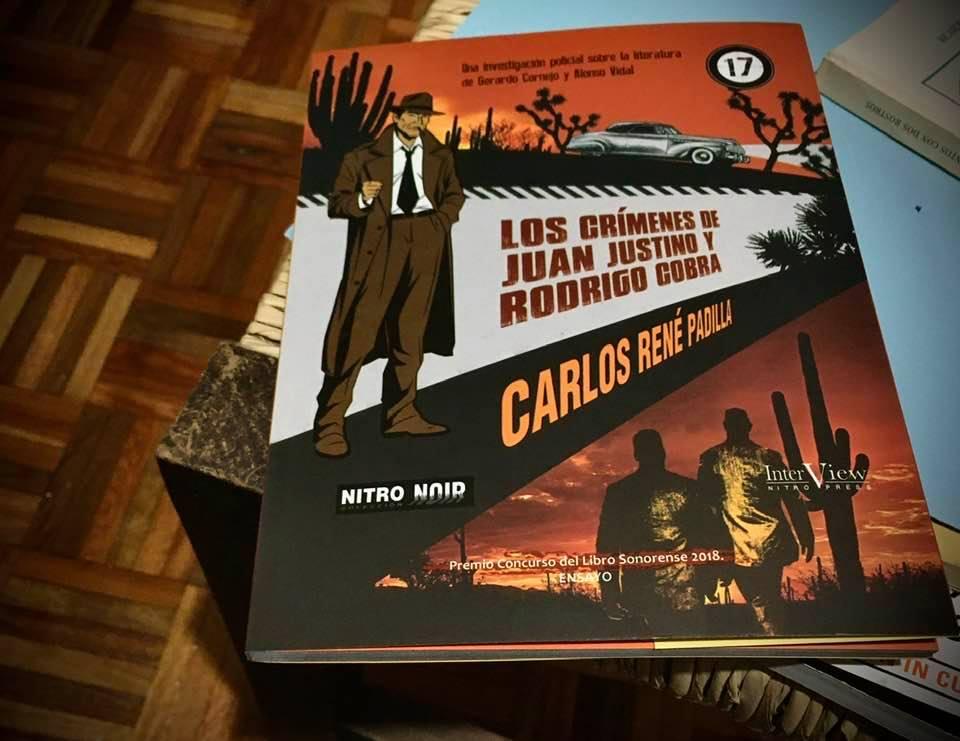 Detectives literarios: Los crímenes de Juan Justino y Rodrigo Cobra