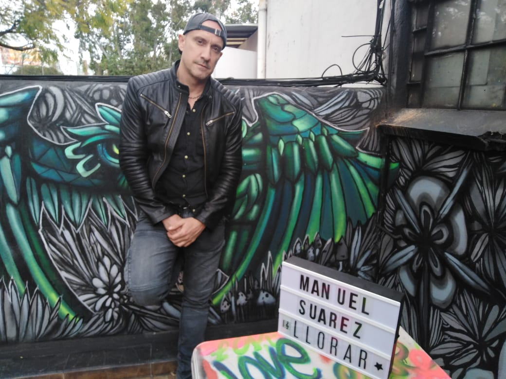 """""""Me estoy enfrentando a una manera nueva de hacer mi música"""": Manuel Suárez"""